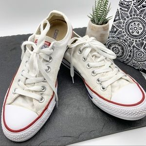 Converse chuck taylor all stars white low tops 7